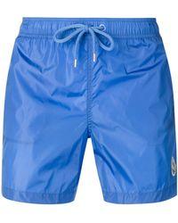 Moncler - Side Logo Swim Shorts - Lyst