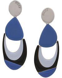 Emilio Pucci Geometric Shaped Earrings - マルチカラー