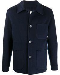 Sandro - Hemdjacke mit aufgesetzten Taschen - Lyst