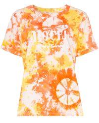 All Things Mochi ロゴ Tシャツ - オレンジ