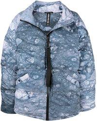 Raeburn Glacier パデッドコート - ブルー