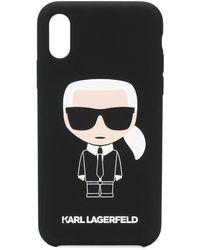 Karl Lagerfeld - Karl Ikonik Iphone Xr ケース - Lyst
