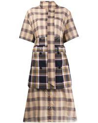 ROKH - レイヤード シャツドレス - Lyst