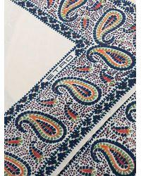 Etro Платок С Принтом Пейсли - Многоцветный