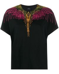 Marcelo Burlon Bazier Wings T-shirt - Black