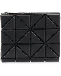 Bao Bao Issey Miyake Small Geometric-pattern Wallet - Black