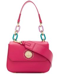 Ferragamo - Chain-embellished Shoulder Bag - Lyst