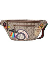 Gucci - グッチ クーリエ GGスプリーム ベルトバッグ - Lyst