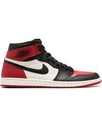 Nike Хайтопы ' 1 Retro' - Красный
