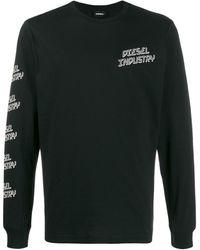 DIESEL - Industry ロングtシャツ - Lyst