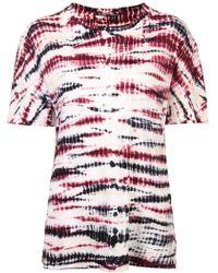 Proenza Schouler - Tie Dye Tシャツ - Lyst