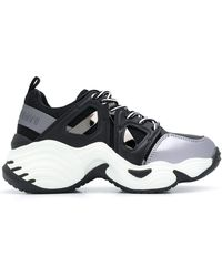 Emporio Armani - Sneakers mit klobiger Sohle - Lyst