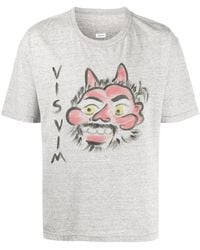 Visvim ロゴ Tシャツ - グレー