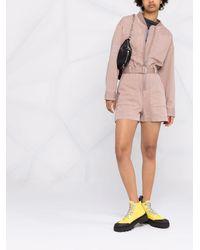 DIESEL Astrid Utility Playsuit - Pink