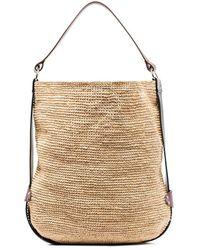 Isabel Marant Bayia Raffia Tote Bag - Natural