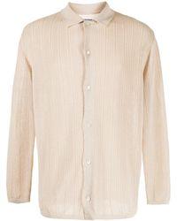 Coohem Fine-knit Shirt - Natural