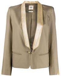 Hermès Пиджак С Лацканами-шалькой 2000-х Годов Pre-owned - Естественный