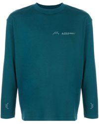 A_COLD_WALL* Long-sleeved T-shirt - Blue