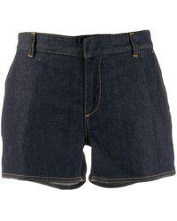 DSquared² Pantalones vaqueros cortos ajustados - Azul