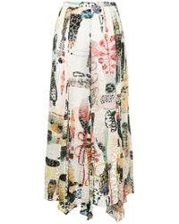 Rachel Comey - Printed Skirt - Lyst