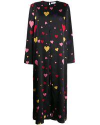 Racil ハートプリント ドレス - マルチカラー