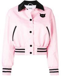 Miu Miu Cat ボンバージャケット - ピンク