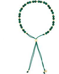 Astley Clarke Beaded Skinny Bracelet - Groen