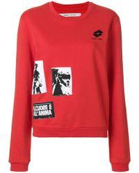 Damir Doma - Printed Logo Sweatshirt - Lyst