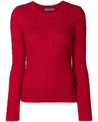 Calvin Klein Jeans - Cable Knit Jumper - Lyst