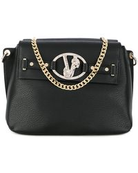 Versace Jeans - Logo Detail Handbag - Lyst