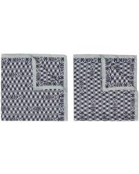 Moschino Sjaal Met Logoprint - Grijs