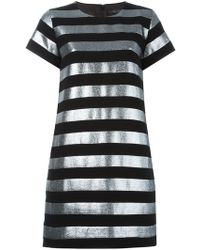 Marc By Marc Jacobs - Striped T-shirt Dress - Lyst