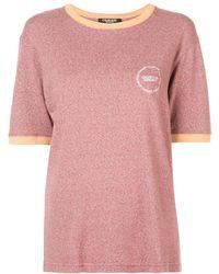 CALVIN KLEIN 205W39NYC - コントラストトリム Tシャツ - Lyst