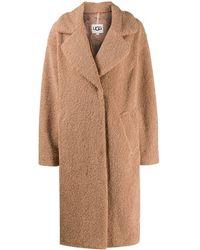 UGG Пальто Оверсайз Из Овчины - Многоцветный