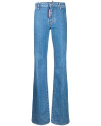 DSquared² Flared Jeans - Blue