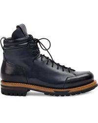 Silvano Sassetti - Lace Up Boots - Lyst