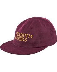 Stadium Goods Corduroy Strapback - Marron