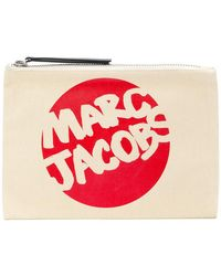Marc Jacobs - Branded Clutch - Lyst