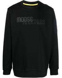 Moose Knuckles Толстовка Transit С Логотипом - Черный