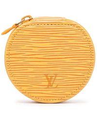 Louis Vuitton Pre-owned Épi Ecrin Bijou Jewellery Case - Yellow