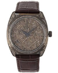 Christian Koban 'dom' Diamond Watch - Brown