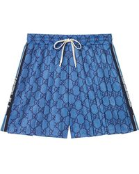 Gucci - GG Technical Jersey Shorts - Lyst