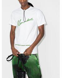Mowalola スローガン Tシャツ - ホワイト