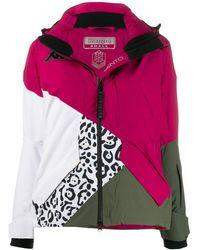 Kappa Colour-block Padded Jacket - Gray
