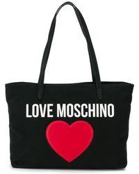 Love Moschino - Heart Logo Tote - Lyst