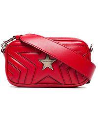 Stella McCartney - Red Star Pu Crossbody Bag - Lyst