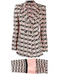 Elisabetta Franchi Monogram Two-piece Suit