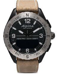 Alpina Наручные Часы Alpinerx Smartwatch 45 Мм - Черный
