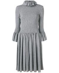MM6 by Maison Martin Margiela - Elasticated Knit Dress - Lyst