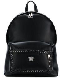Versace - 'Medusa' Rucksack mit Nieten - Lyst